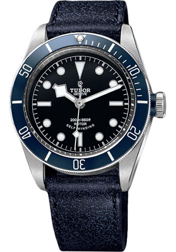 Tudor Watches - Heritage Black Bay Stainless Steel - Aged Leather - Style No: 79220B-leather