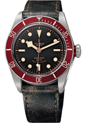 Tudor Watches - Heritage Black Bay Stainless Steel - Aged Leather - Style No: 79220R-leather