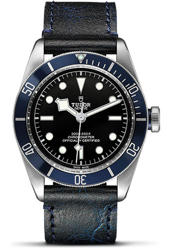 Tudor Watches - Heritage Black Bay Stainless Steel - Aged Leather - Style No: 79230B-leather