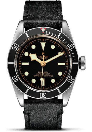 Tudor Watches - Heritage Black Bay Stainless Steel - Aged Leather - Style No: 79230N-leather