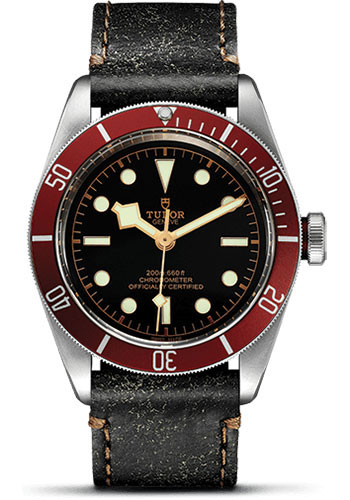 Tudor Watches - Heritage Black Bay Stainless Steel - Aged Leather - Style No: 79230R-leather
