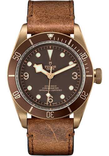 Tudor Watches - Heritage Black Bay Bronze - Aged Leather - Style No: 79250BM-aged-leather
