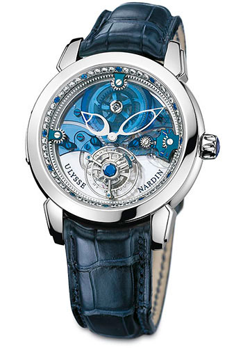 Ulysse Nardin Watches - Tourbillon Royal Blue - Style No: 799-80