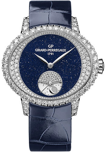 Girard-Perregaux Watches - Cats eye Day and Night High Jewellery - Style No: 80488D53M4D1-CK4A