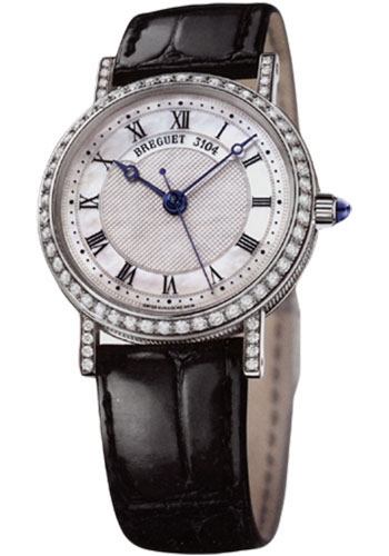 Breguet Watches - Classique 30mm - White Gold - Style No: 8068BB/52/964.DD00
