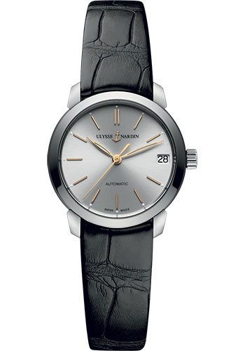 Ulysse Nardin Watches - Classico Lady - Stainless Steel - Leather Strap - Style No: 8103-116-2/91