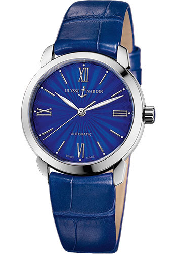 Ulysse Nardin Watches - Classico Lady - Stainless Steel - Leather Strap - Style No: 8103-116-2/E3