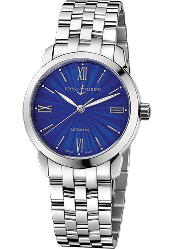 Ulysse Nardin Watches - Classico Lady - Stainless Steel - Bracelet - Style No: 8103-116-7/E3