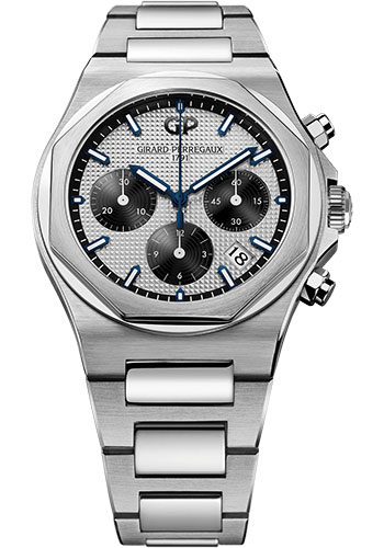 Girard-Perregaux Watches - Laureato Chronograph 38 mm - Style No: 81040-11-131-11A