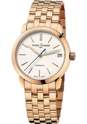 Ulysse Nardin Watches - Classico Lady - Rose Gold - Bracelet - Style No: 8106-116-8/90