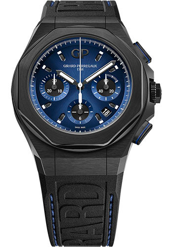 Girard-Perregaux Watches - Laureato Absolute Chronograph - Style No: 81060-21-491-FH6A