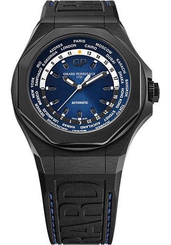 Girard-Perregaux Watches - Laureato Absolute WW.TC - Style No: 81065-21-491-FH6A