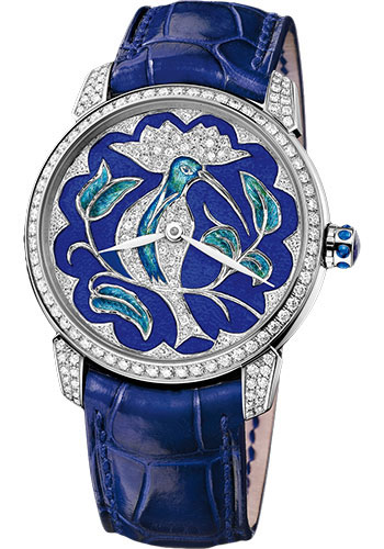 Ulysse Nardin Watches - Classico Lady - White Gold - Style No: 8150-112-2/HUP
