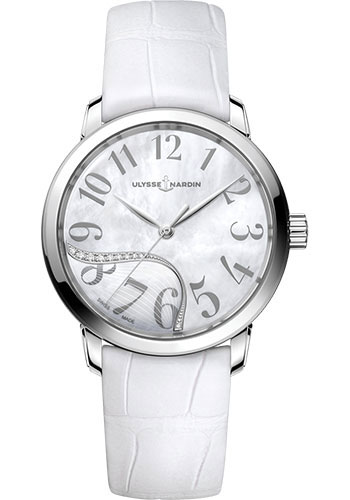 Ulysse Nardin Watches - Classico Jade - Stainless Steel - Style No: 8153-201/60-01