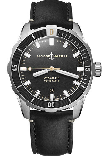 Ulysse Nardin Watches - Diver 42 mm - Style No: 8163-175/92
