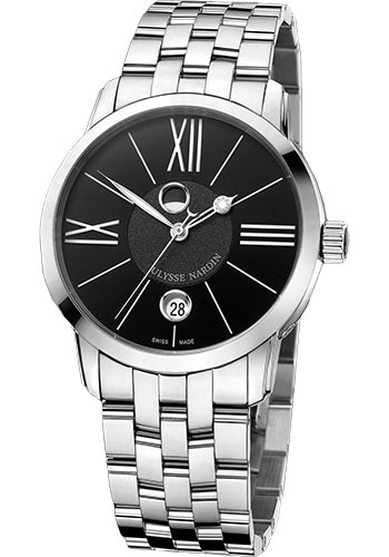 Ulysse Nardin Watches - Classic Luna Stainless Steel - Style No: 8293-122-7/42
