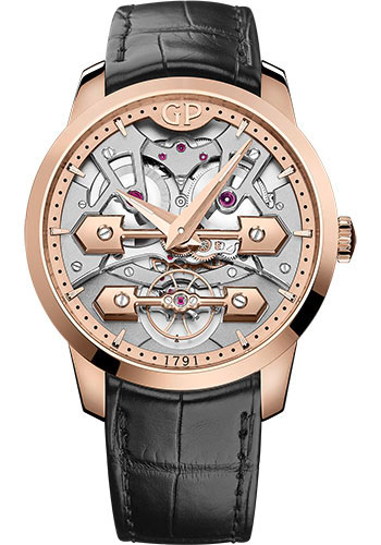Girard-Perregaux Watches - Bridges Classic 45 mm - Style No: 86000-52-001-BB6A