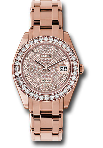 Rolex Watches - Datejust Pearlmaster 39 Everose Gold - Style No: 86285 dpr