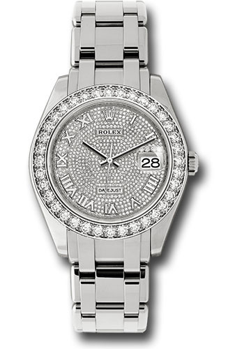 Rolex Watches - Datejust Pearlmaster 39 White Gold - Style No: 86289 dpr