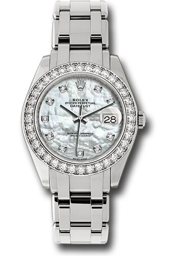 Rolex Watches - Datejust Pearlmaster 39 White Gold - Style No: 86289 md