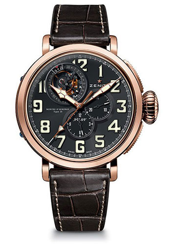 Zenith Watches - Pilot Type 20 Tourbillon - Style No: 87.2430.4035/21.C721