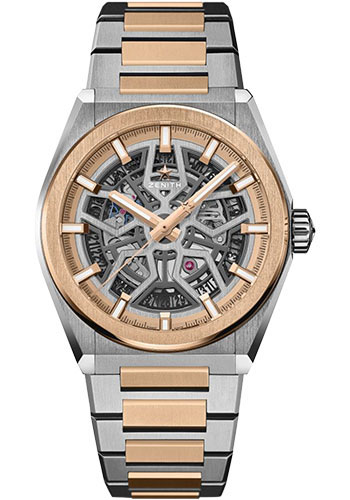 Zenith Watches - Defy Classic Titanium and Rose Gold - Style No: 87.9001.670/79.M9001
