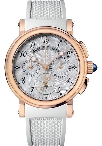 Breguet Watches - Marine 8827 - Chronograph - 35mm - Style No: 8827BR/52/586