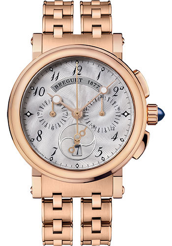 Breguet Watches - Marine 8827 - Chronograph - 35mm - Style No: 8827BR/52/RM0