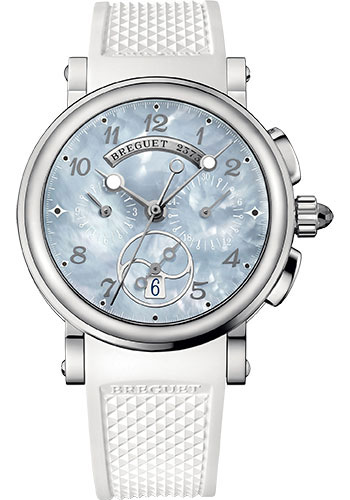 Breguet Watches - Marine 8827 - Chronograph - 35mm - Style No: 8827ST/59/586