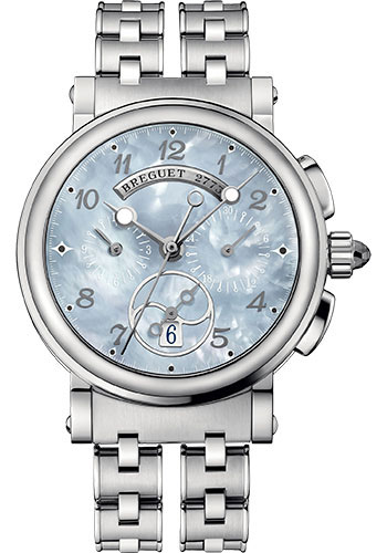 Breguet Watches - Marine 8827 - Chronograph - 35mm - Style No: 8827ST/59/SM0