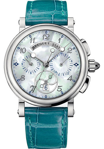 Breguet Watches - Marine 8827 - Chronograph - 35mm - Style No: 8827ST/5W/986