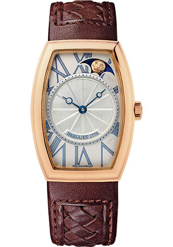 Breguet Watches - Heritage 8860 - Retrograde Moon Phases - Style No: 8860BR/11/386