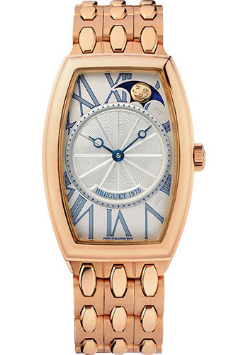 Breguet Watches - Heritage 8860 - Retrograde Moon Phases - Style No: 8860BR/11/RB0