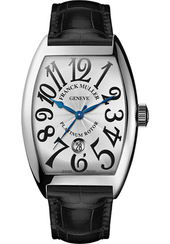 Franck Muller Watches - Cintre Curvex - Automatic - 39.6 mm Stainless Steel - Strap - Style No: 8880 SC DT AC White Black