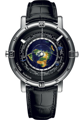 Ulysse Nardin Watches - Classic Trilogy - Style No: 889-70