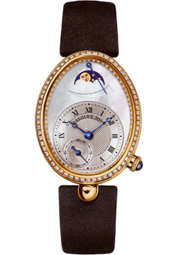 Breguet Watches - Reine de Naples 8908 - Moon Phases - 28.45mm X 36.5mm - Style No: 8908BA/52/864.D00D