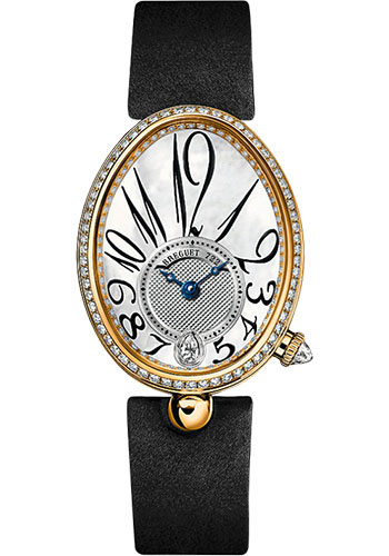 Breguet Watches - Reine de Naples 8918 - 28.45mm X 36.5mm - Yellow Gold - Style No: 8918BA/58/864.D00D