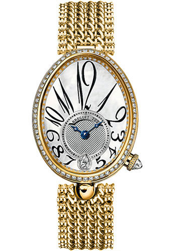 Breguet Watches - Reine de Naples 8918 - 28.45mm X 36.5mm - Yellow Gold - Style No: 8918BA/58/J20.D000