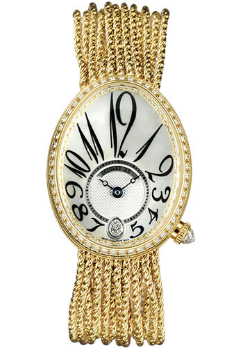 Breguet Watches - Reine de Naples 28.45mm X 36.5mm - Yellow Gold - Style No: 8918BA/58/J39.D00D