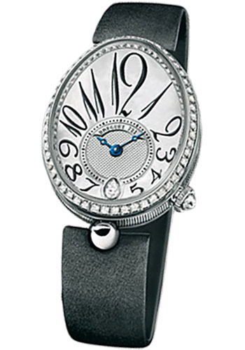 Breguet Watches - Reine de Naples 8918 - 28.45mm X 36.5mm - White Gold - Style No: 8918BB/58/864.D00D