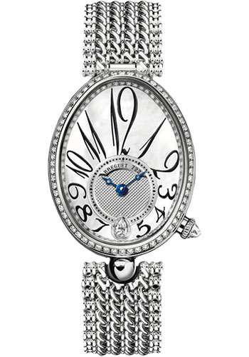 Breguet Watches - Reine de Naples 28.45mm X 36.5mm - White Gold - Style No: 8918BB/58/J20.D000