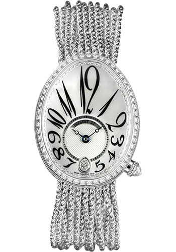 Breguet Watches - Reine de Naples 8918 - 28.45mm X 36.5mm - White Gold - Style No: 8918BB/58/J39.D00D