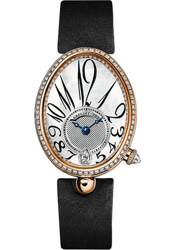 Breguet Watches - Reine de Naples 8918 - 28.45mm X 36.5mm - Rose Gold - Style No: 8918BR/58/864.D00D
