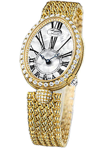 Breguet Watches - Reine de Naples 8928 - 24.95mm X 33mm - Yellow Gold - Style No: 8928BA/51/J20.DD00