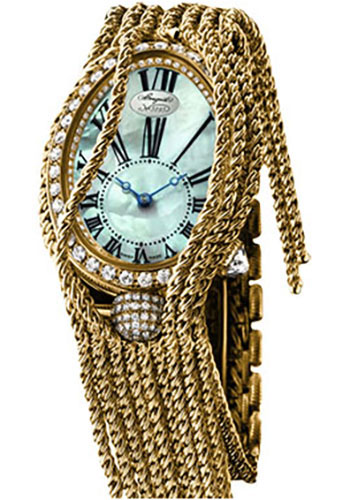 Breguet Watches - Reine de Naples 8928 - 24.95mm X 33mm - Yellow Gold - Style No: 8928BA/51/J60.DD0D