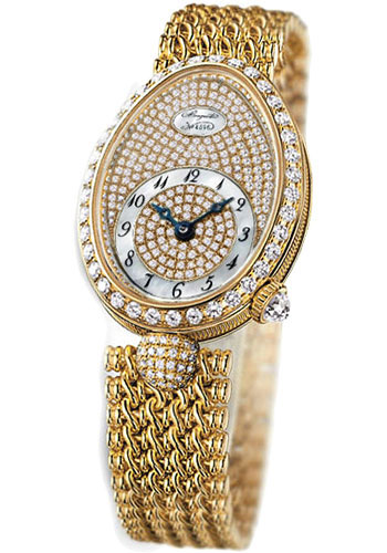Breguet Watches - Reine de Naples 8928 - 24.95mm X 33mm - Yellow Gold - Style No: 8928BA/8D/J20.DD00