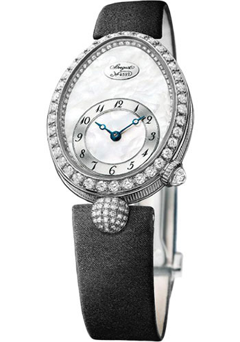 Breguet Watches - Reine de Naples 24.95mm X 33mm - White Gold - Style No: 8928BB/58/844.DD0D