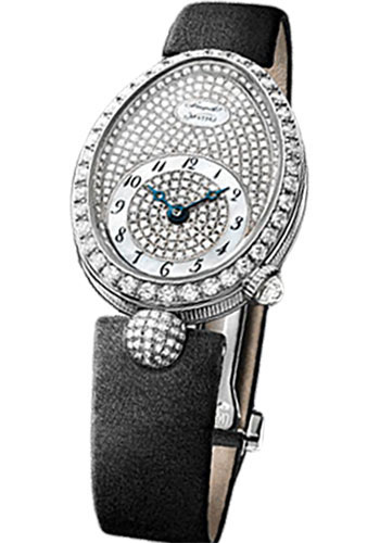 Breguet Watches - Reine de Naples 8928 - 24.95mm X 33mm - White Gold - Style No: 8928BB/8D/844.DD0D