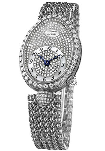 Breguet Watches - Reine de Naples 8928 - 24.95mm X 33mm - White Gold - Style No: 8928BB/8D/J20.DD00