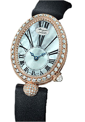 Breguet Watches - Reine de Naples 8928 - 24.95mm X 33mm - Rose Gold - Style No: 8928BR/51/844.DD0D